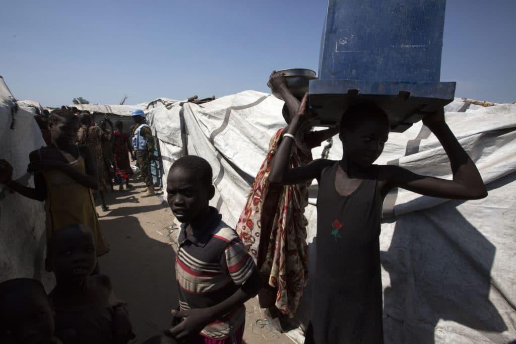 Sfollati nella contea di Leer, nel nord del Sud Sudan - Flickr Creative Commons - UNMISS