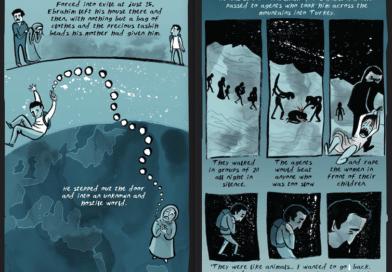 Fumetti e graphics per raccontare le vite dei migranti in viaggio