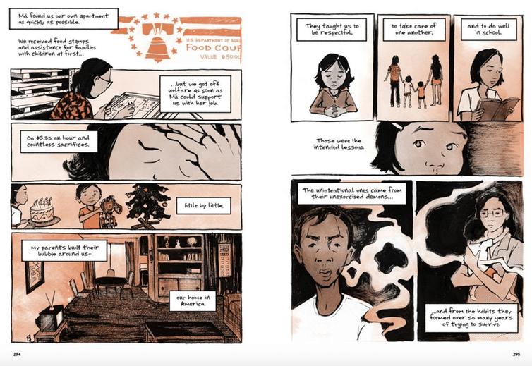 'Il nostro meglio', di Thi Bui.Vignetta di Abrams Books e Ti Bui