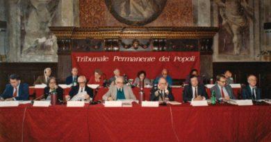 Tribunale Permanente dei Popoli, 40 anni in difesa dei diritti