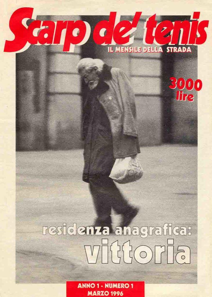 La copertina del primo numero del giornale