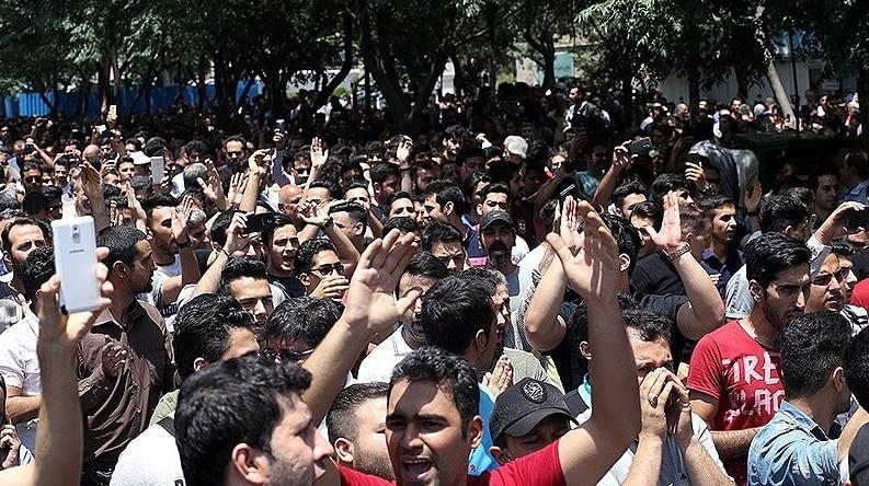 Proteste a Teheran