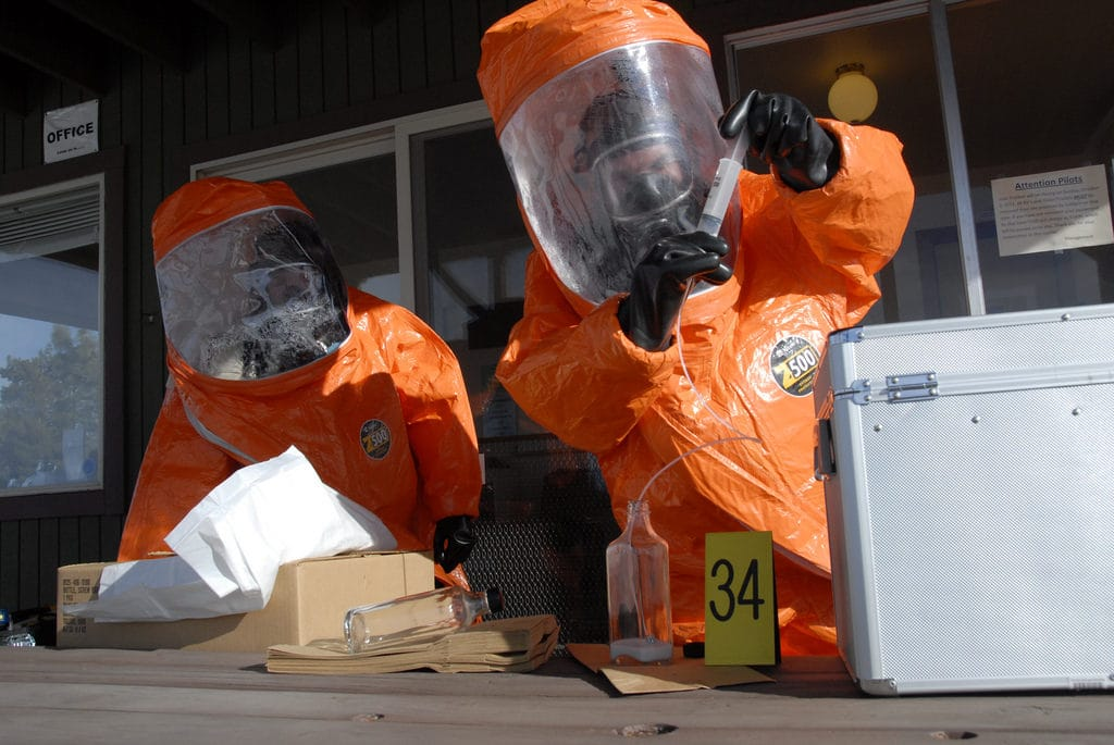 Simulazione controllo armi chimiche e biologiche negli USA - Flickr Creative Commons - California National Guard