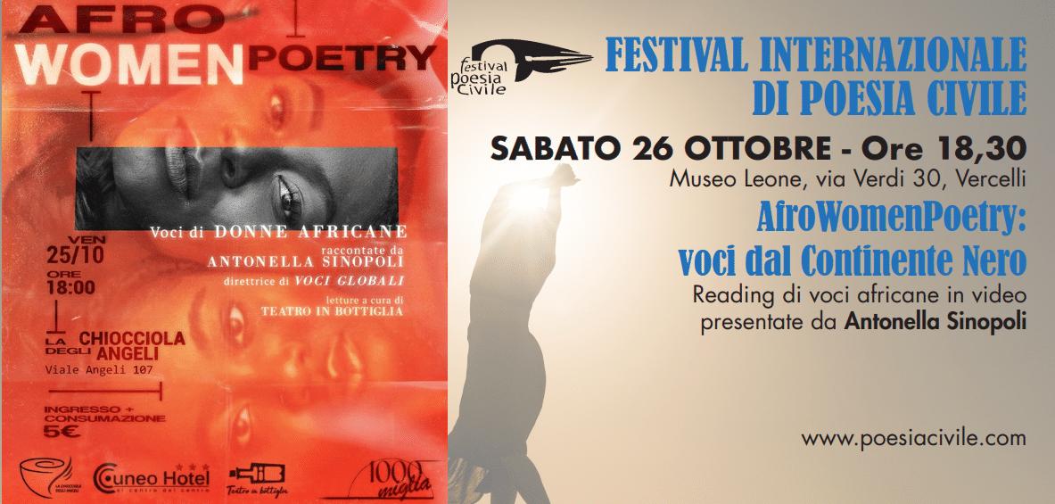 AfroWomenPoetry in Piemonte