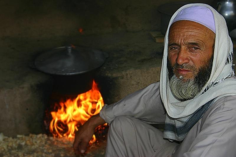 Anziano afgano, foto di J McDowell