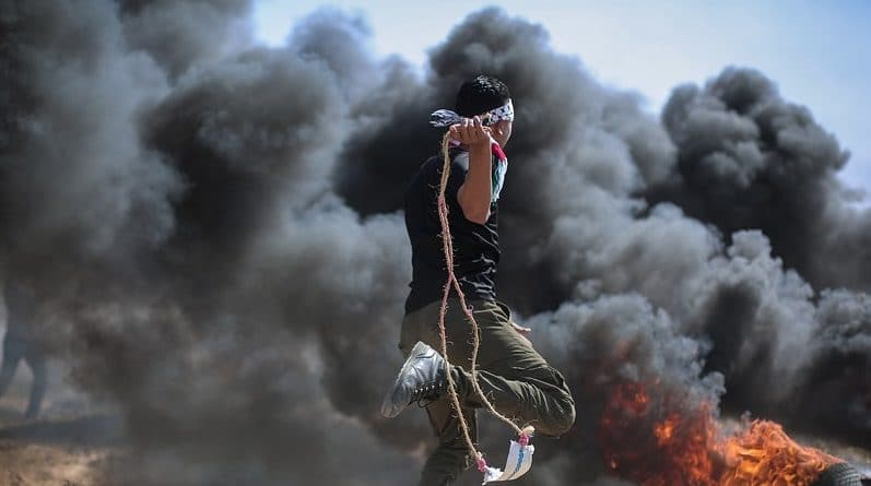 Vita a Gaza. Wikimedia Commons