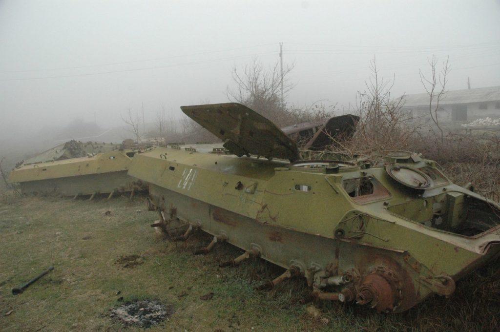 Carro armato azero nel Nagorno Karabakh - Wikimedia Commons