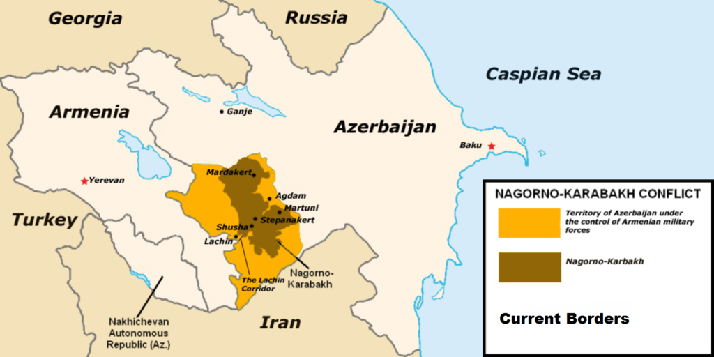 Nagorno karabakh - Mappa - Wikimedia Commons
