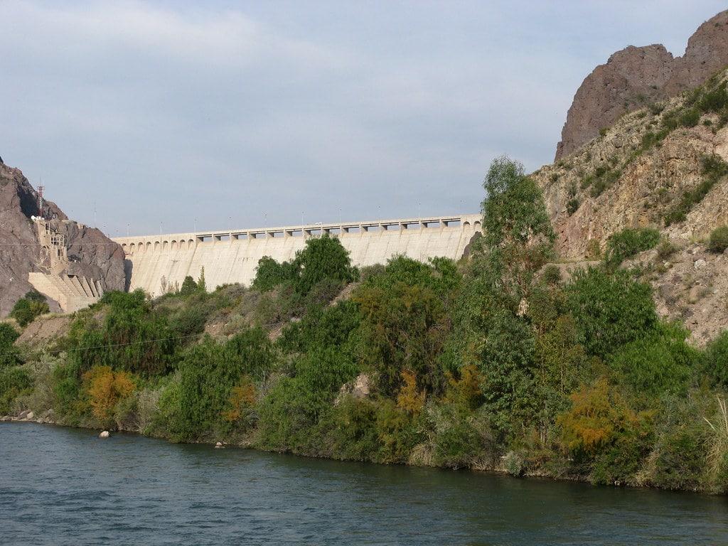 la diga sul fiume Atuel