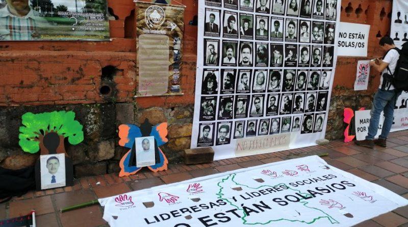 Omaggio ai leader sociali assassinati, Cali 26 luglio 2019, immagine di Tefita228 su Wikimedia Commons