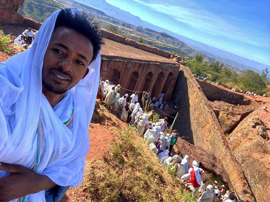 Alex ABIBIL, etiope di 25 anni nativo Lalibela.