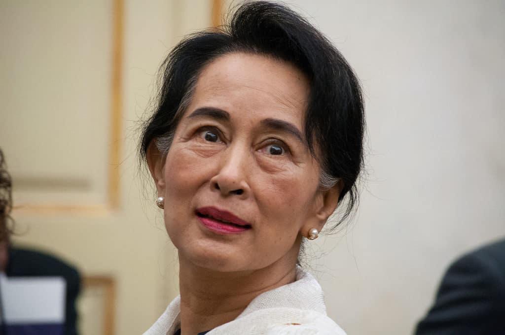 Aung San Suu Kyii licenza commons wikimedia