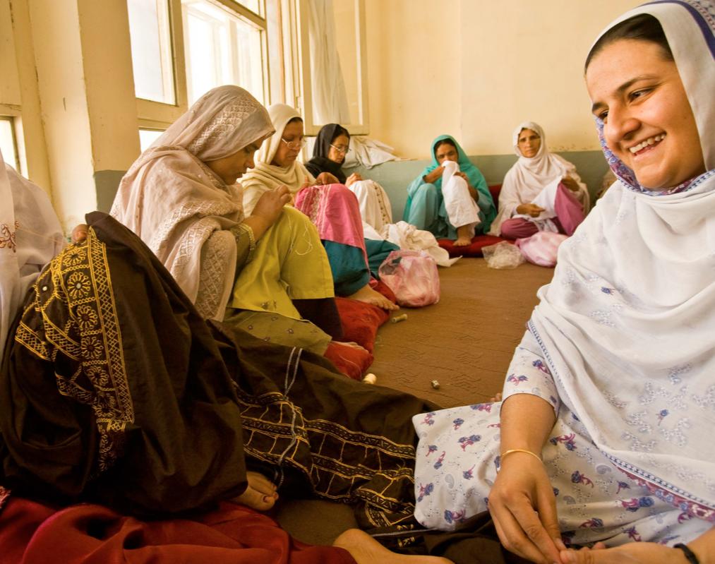 L'azienda fondata da Rangina Hamidi,Kandahar Treasure. Flickr/Thunderbird School of Global Management in licenza CC