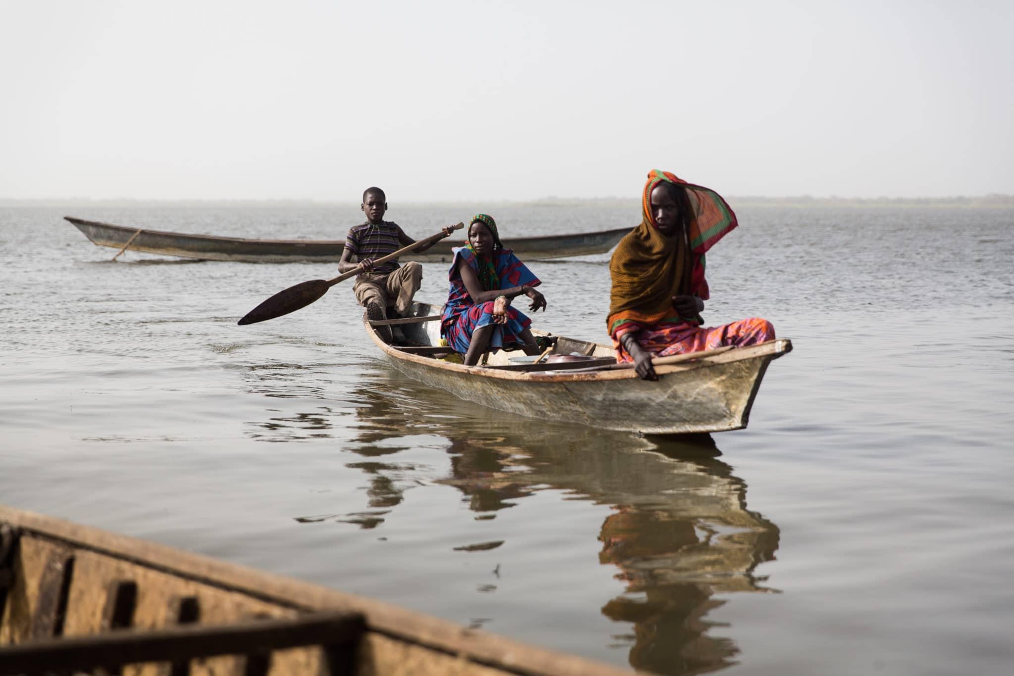 Rifugiati sul lago Chad. Jerome Starkey/Flickr in licenza CC